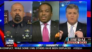 SHeriff David Clarke GOES OFF on Liberal Lawyer on Hands Up Don