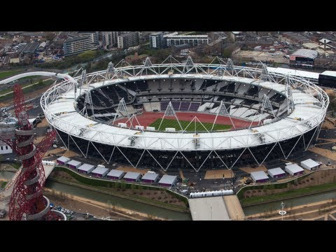 London's Olympic Stadium Built In 2 Minutes