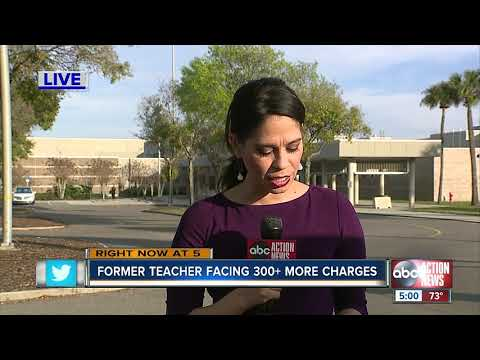 Former teacher faces hundreds of new charges tied to recording students undressing on school grounds thumbnail