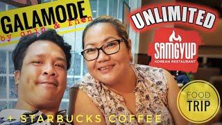 Unlimited Samgyup + Starbucks @ SM Dasmarinas [FOODTRIP] [BUSOG - SARAP]