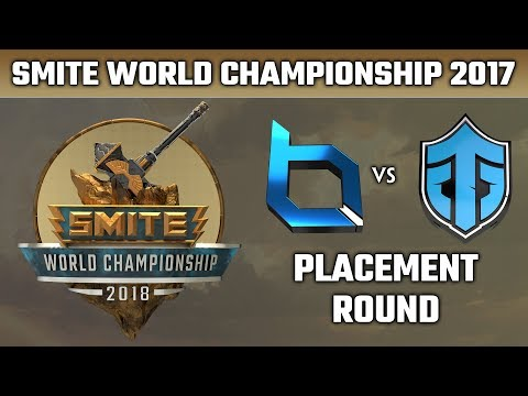SMITE World Championship 2018: Placement Round - Obey Alliance vs. Entity Gaming