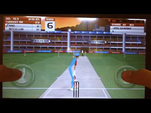 Stick Cricket Premier League Android gameplay HD
