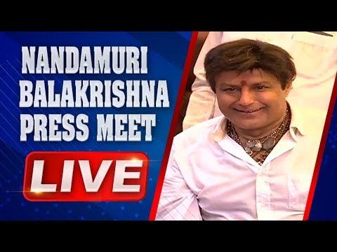Nandamuri Balakrishna Press Meet   NTR Biopic   Nimmakuru Tour   ABN Telugu