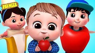Yes Yes Fruit Song   Learning Nursery Rhymes & Kids Songs