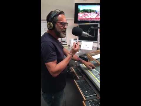 Marco Baldini on air su Radio Rock!