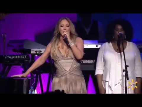 Mariah Carey live at Walmart Share Holders 2015