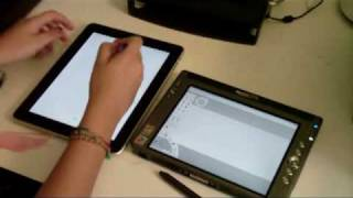 Motion Computing LS800 vs Apple Ipad (as an art/sketching slate on the go)