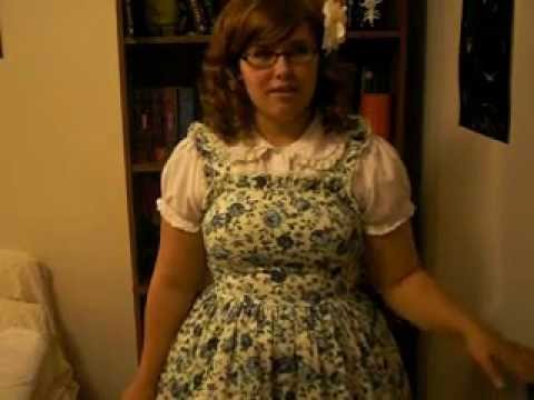 My first time wearing lolita in public