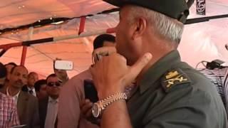 كمال الوزير رئيس الإدارة الهندسية لحفر قناة السوسي الجديدة يتحدث لمحيط