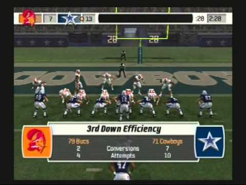 Madden NFL 07 Historic Teams Special 1979 Tampa Bay Buccaneers vs 1971 Dallas Cowboys Video Game Simulation video Game (Video Game Genre) PlayStation 2 Video Game Platform American ...