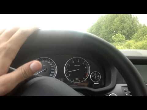 Тест драйв BMW X3 xDrive28i, часть 1