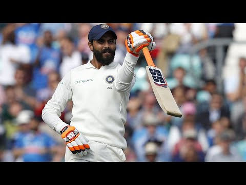 Ravinder Jadeja Test Century 100 Runs (132 Balls ) vs West Indies | 1st Test | Day 2 | Highlights