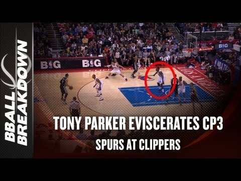 NBA 2013: How Tony Parker & The Spurs Offense Blew Out The Clippers