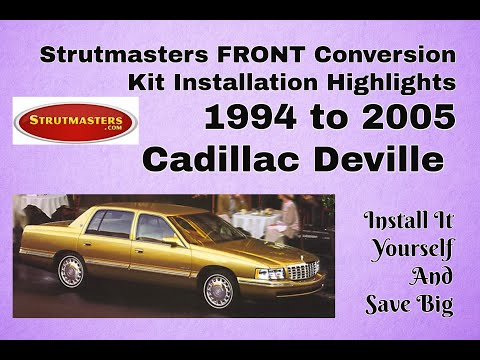 How To Fix The Front Electronic Suspension On A Cadillac Deville