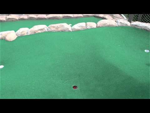 Congo River Miniature Golf Tips - Hole # 9 - Congo Rapids Course (Hoffman Estates, IL)