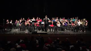 WHS Concert Band - Christmas Trilogy Sing Along - 12/13/2018