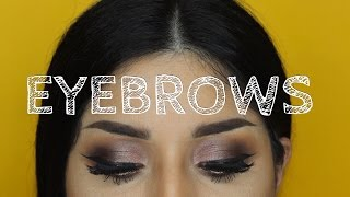 Tres opciones fáciles para rellenar y delinear tus cejas/ three ways to fill your eyebrows