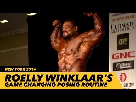 Roelly Winklaar 2016 New York Pro Posing Routine | Generation Iron