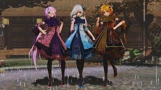 [MMD] TDA Spring China Lolita Candy&Kagari&Hatsune - Liar Dance