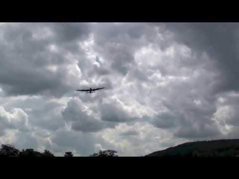 The Dambusters 70th Anniversary flypast at Chatsworth ~ May 16th 2013