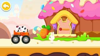 Baby Panda Car Racing Gameplay   BabyBus Kids Games #25