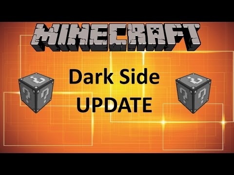 Minecraft: DARK SIDE LUCKY BLOCK MOD UPDATE!!!
