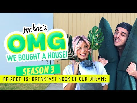 We Built the Breakfast Nook of Our Dreams! | OMG We Bought A House | Mr. Kate