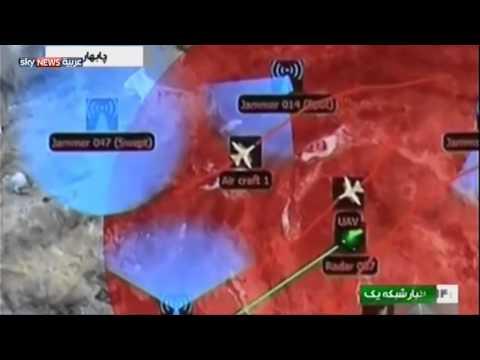 """إيران تختبر """"طائرة انتحارية"""" بدون طيار"""
