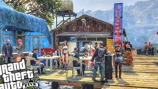 Biker Gang Clubhouse & Strip Club - GTA 5 PC MOD