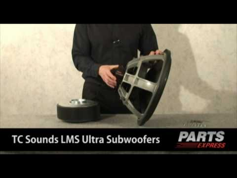 TC Sounds LMS Ultra Subwoofer Line