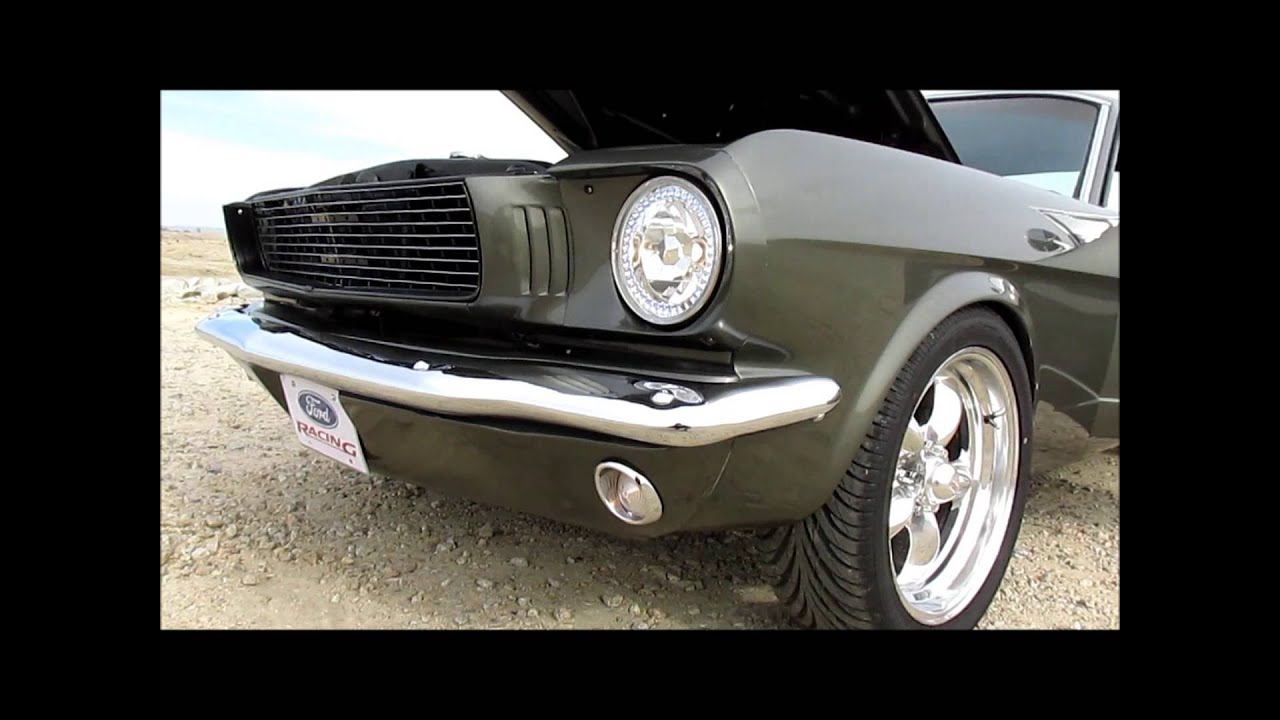 Early 65 Mustang Restomod Youtube