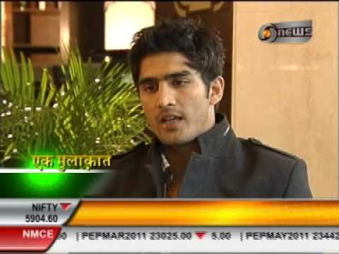 Manoj Tibrewal Aakash Interviewed Vijender Singh for DD News's Ek Mulaqat (Part-2)