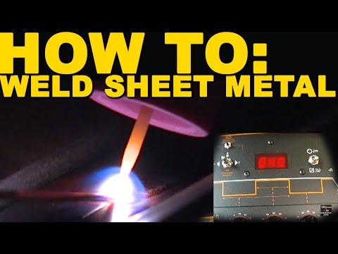 Welding Mild Steel Sheet Metal   TIG Time
