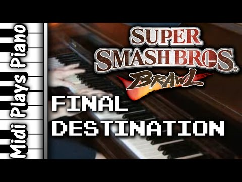 [Piano] SSBB Final Destination