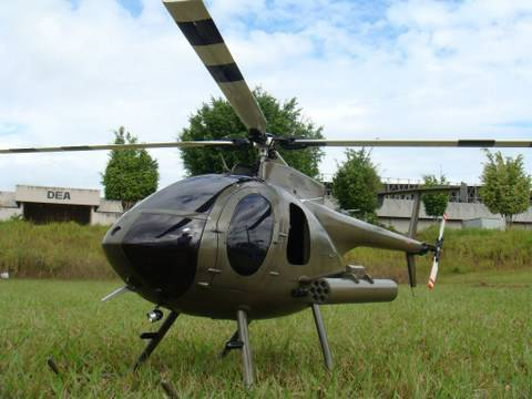 MD 530F Thunder Tiger SCALE ROTOR HEAD ( Raptor 50 NITRO)