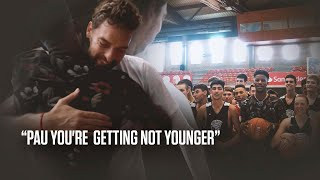 Pau you're getting NOT younger.