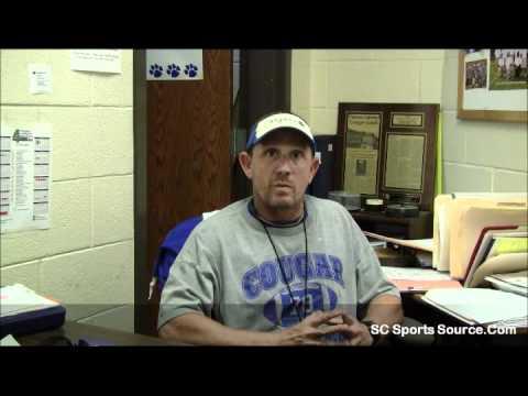 Edisto High School Head Football Coach Andy Palmer