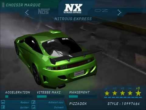 NFS underground 1 Cars