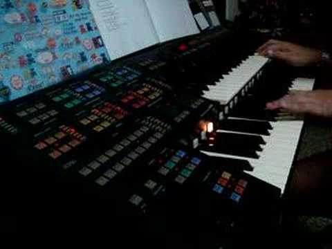 O Nara Played On Yamaha Electone HS-8 HQ