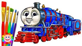 Thomas and Friends Drawing Trains for Kids HANK