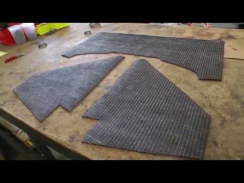 Classic VW BuGs How to Install Beetle Engine Motor Insulation Tar Boards