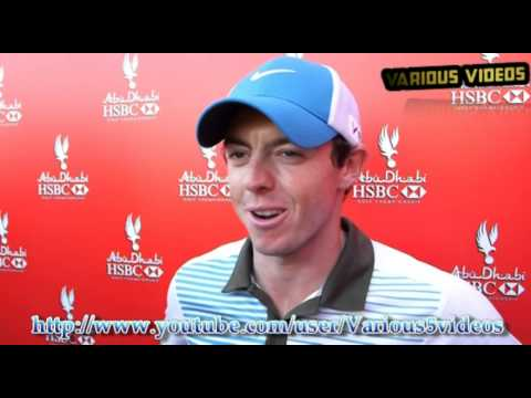 Rory McIlroy pleased to be in the mix