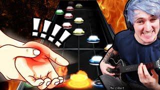 Guitar Hero: hand cramp edition