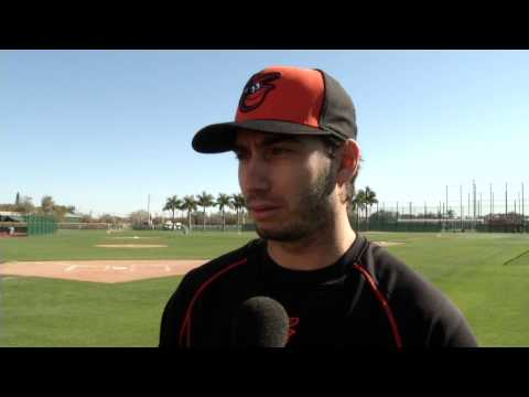 Miguel Gonzalez discusses his strategy as Orioles' spring training begins