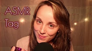 THE ASMR TAG CHALLENGE - 25 QUESTIONS (WHISPERED) - @WhisperingJane ASMR