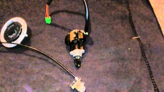 1999 Gsxr 600 complete lockset  Ignition Switch,