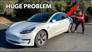 A HUGE PROBLEM WITH THE TESLA MODEL 3!!