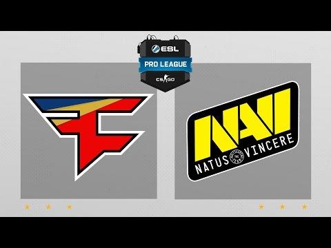 CS:GO - FaZe vs. NaVi [Mirage] Map 2 - ESL Pro League Season 5 - EU Matchday 13