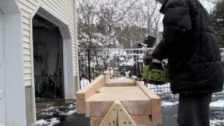 Carving Wind Turbine Blades with a Chainsaw Tutorial for Jig
