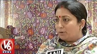 Union Minister Smriti Irani Takes On Congress Over 'Chaiwalla' Meme